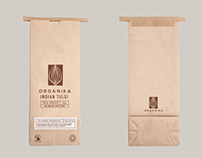 Organika - Tea Packaging & Logo Design