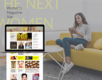 Women's Magazine Site