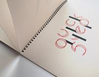 Dance | typographic calendar