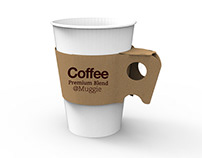MUGGIE, Disposable Mug Style Paper Cup Sleeve