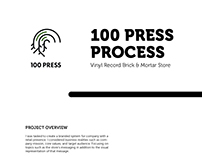Creative Process - 100 Press