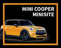 MINI Cooper Minisite