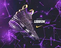 Nike Poster (Spoof) | Lebron 15 | Lakeshow
