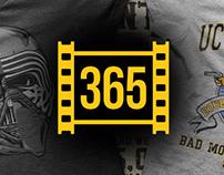 365 Filmes - T-shirts