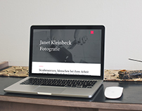 Website redesign Janet Kleinbeck