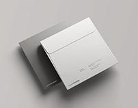 Square Envelope Mockup PSD