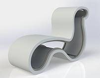 Cadeira multi-assentos