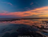 Low Tide Twilight Sky