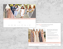 Vow to be Chic Promo Card