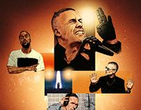 L.O.C tour poster design, Quarterback entertainment
