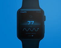 Health -  Apple Watch App Concept