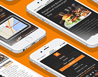 Datz Restaurant Group | UI Design | Web Design