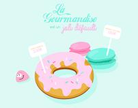 Affiche gourmandise