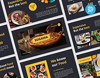 Sugawa food presentation template