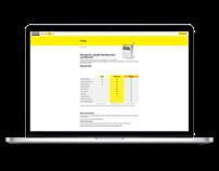 Team Visual Website Design