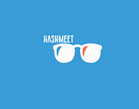 Hashmeet: Logo & Website