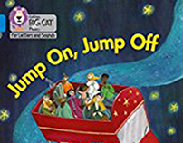 Jump On, Jump Off! - Collins Big Cat Phonics for Letter