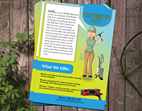 Flyer for Cleaning service