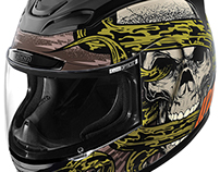 Icon Motorsports Vitriol Helmet