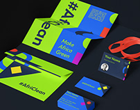 Visual Identity for #AfriClean