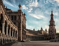 Photographs of Córdoba and Seville (Spain)