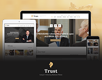 Trust - Lawyer & Attorney Business WordPress Theme