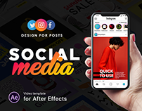 Social Media Kit | After Effects Template