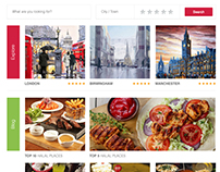 Halal.Place | Directory Website Design