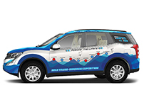 Vehicle Branding - Record Drive