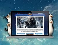 Universal Studios Singapore | Website Redesign