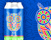 Azacca The Wise - Beer Can Design