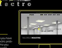 Golab Electro - Website Design