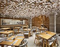 Nozomi Sushi Bar Interior