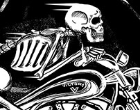 Victory Tucson Skeleton Rider Shirt