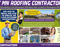 Golden Valley MN Roofing Contractors