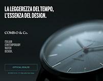 Presentazione Orologio Comb-o & Co. RS37