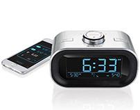 Brookstone Bluetooth Alarm Clock