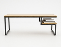 3d modeling #03 - Ossington coffee table