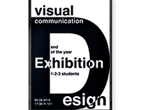 VCD end of the year exhibition_Poster Design