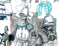 Assorted Sketchbook