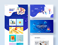 MI Creative Agency - FREE SKETCH Template