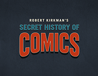 Secret History of Comics Logo Design
