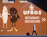Mascote do Restaurante Universitário da UFRGS