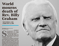 The Death of Billy Graham