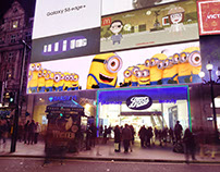 MINIONS AT ONE PICADILLY