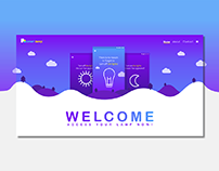 SMART LAMP | WEB | UI