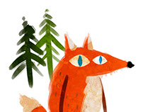 FOX & TWO TREES