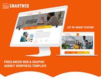 Smartweb - Freelancer Web & Graphic Agency Wordpress