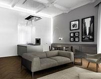 Render Aus01 Apartment No.4 in Turin