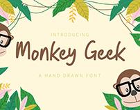Monkey Geek - Fun Handwriting Font